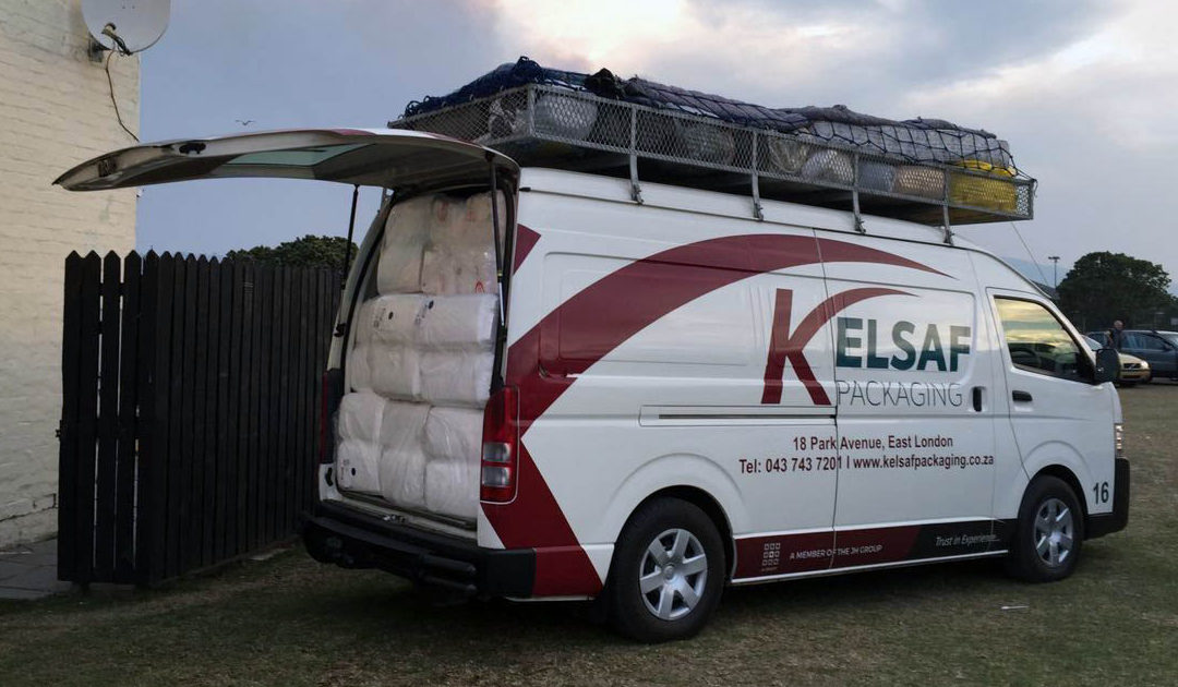 Kelsaf Packaging donating to Knysna Fires